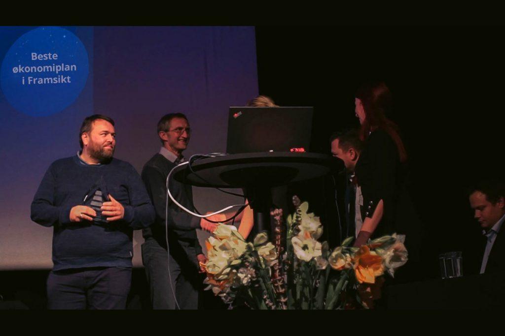 Karmøy kommune får prisen for beste økonomiplan på Framsikt brukerforum